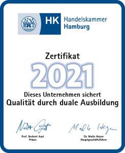 Zertifikat 2021 Aufkleber fuerWeb